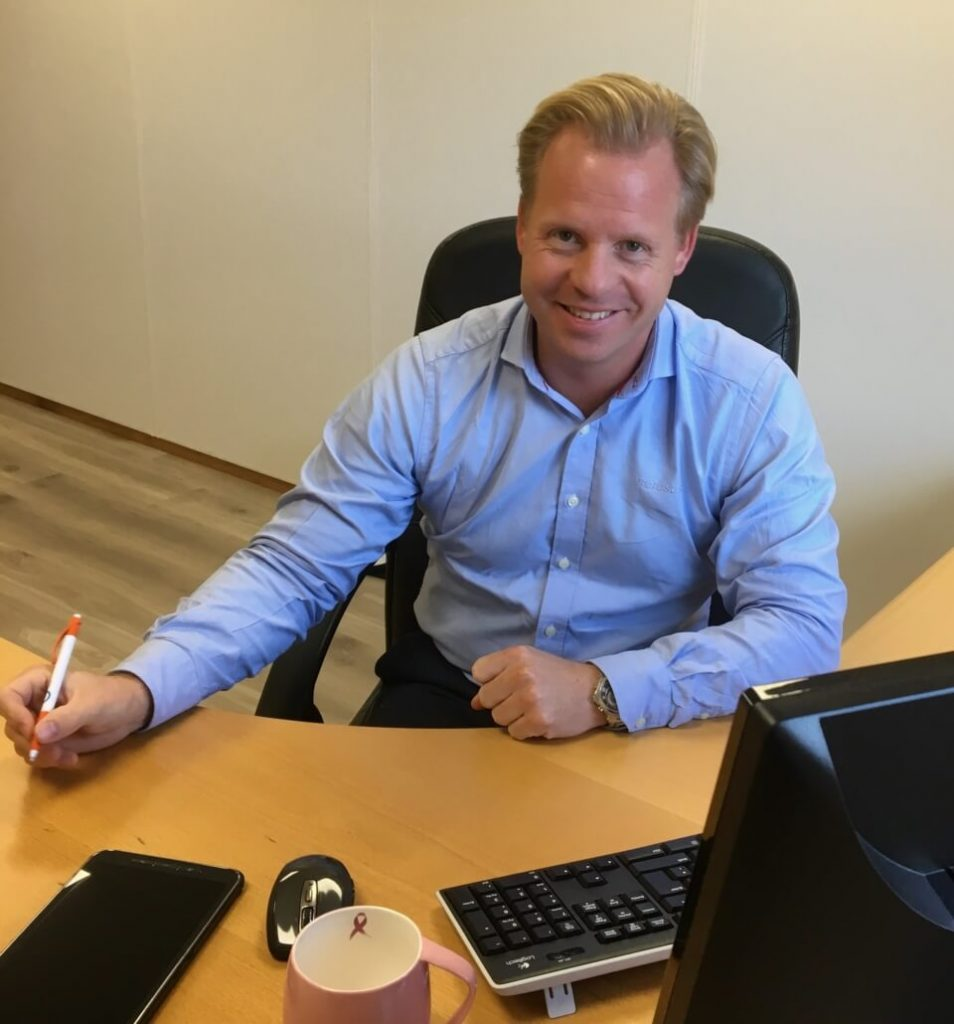 Bjørn Erik Kringstad, daglig leder i Proresult AS